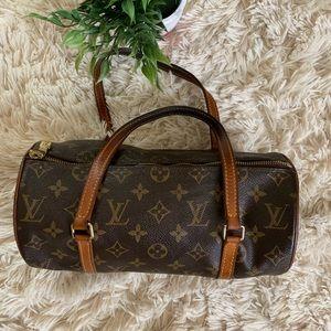 Louis Vuitton Monogram Papillon Shoulder Bag